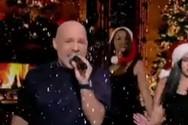 Τα Χριστούγεννα ήρθαν νωρίτερα στο πλατό του Νίκου Μουτσινά (video)