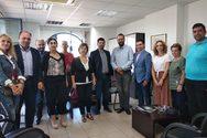Πάτρα: Μέλη του Παγκαλαβρυτινού Συλλόγου συναντήθηκαν με τον Νεκτάριο Φαρμάκη