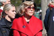 H Jane Fonda συνελήφθη και στην Ουάσινγκτον