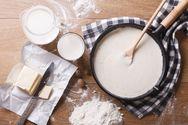 Φτιάξτε πεντανόστιμη σπιτική μπεσαμέλ με παρμεζάνα