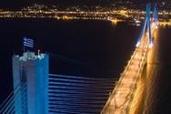 Φωταγωγείται η Γέφυρα Ρίου - Αντιρρίου για την επέτειο της 28ης Οκτωβρίου!