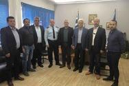 O Σπύρος Μυλωνάς επισκέφθηκε τον αστυνομικό διευθυντή Αχαΐας