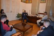 Ο Κώστας Πελετίδης, συναντήθηκε με μαθητές του 4ου ΕΠΑΛ Πάτρας!