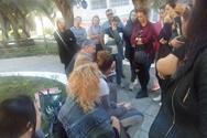 Πάτρα: Ο Κώστας Μάρκου επισκέφθηκε το Άσυλο Ανιάτων