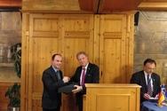 Ο Λάμπρος Δημητρογιάννης εκπροσώπησε την ΠΔΕ στην Ελληνογερμανική Συνέλευση