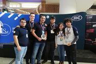 Διεθνής διάκριση για τη Λέσχη Ρομποτικής των φοιτητών του Πανεπιστημίου Πατρών!