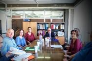 ΣυνάντησηΠαναγιώτη Σακελλαρόπουλου με στελέχη της Αποκεντρωμένης Διοίκησης