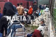 Ηλεία: Αντιδράσεις από μετανάστες και κατοίκους για την δομή φιλοξενίας στη Δίβρη (pics+video)