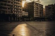 Όταν ο ήλιος κρύβεται πίσω από τις πολυκατοικίες της Πάτρας (φωτο)