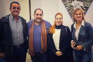 Μέλη του ΜΕΡΑ25 Αχαΐας συναντήθηκαν με τον πρόεδρο της Ο.Ε.ΕΣ.Π.