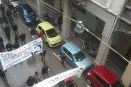 Πάτρα: Πορεία αλληλεγγύης στους συλληφθέντες από αντιεξουσιαστές