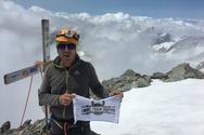 Νέα αποστολή για τον ορειβάτη Αντώνη Συκάρη - Θέλει να κατακτήσει την κορυφή Αναπούρνα