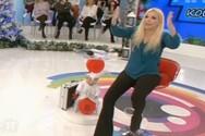 Έπαθε αμόκ η Αννίτα Πάνια με καλεσμένη της (video)