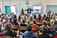 Πάτρα - Ο Άγγελος Τσιγκρής μίλησε στους μαθητές του 33ου Δημοτικού Σχολείου! (φωτο)