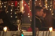 Καυτά φιλιά και αγκαλιές για Ηλιάνα Παπαγεωργίου και Snik (video)