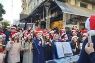 Εκατοντάδες μαθητές, ξεσήκωσαν την Κυριακή το κέντρο της Πάτρας (φωτο)