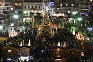 Η Πάτρα «φόρεσε» τα γιορτινά της - Δείτε ένα βίντεο από τις εορταστικές εκδηλώσεις
