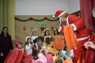 Πάτρα - Πραγματοποιήθηκε η χριστουγεννιάτικη γιορτή για τα μικρά παιδιά (φωτο)