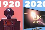 Η εξέλιξη της τηλεόρασης από το 1920 μέχρι σήμερα (video)