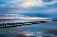 Υπέροχες εικόνες από τη μοναδική λιμνοθάλασσα του Μεσολογγίου