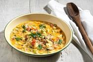 Μαγειρέψτε σούπα λαχανικών με κριθαράκι