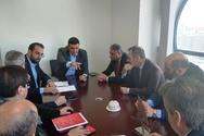 Ο υπουργός Υγείας Βασίλης Κικίλιας στα γραφεία της Περιφέρειας Δυτικής Ελλάδας (φωτο)