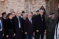 Ο Αντιπεριφερειάρχης Π. Σακελλαρόπουλος, στην εκδήλωση μνήμης στα Σελλά