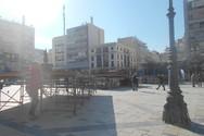Πάτρα: Ξεκίνησαν οι εργασίες στην πλατεία Γεωργίου για την τελετή