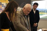 Το ποδοσφαιρικό τμήμα της ΑΕΚ έκοψε την πρωτοχρονιάτικη πίτα του