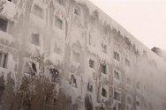 Κτίριο στη Ρωσία πάγωσε μέσα κι έξω
