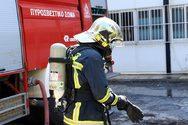 Ξέσπασε φωτιά σε περίπτερο στο κέντρο της Θεσσαλονίκης