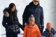 Ο Αντώνης Σρόιτερ στα χιόνια με τα κορίτσια της ζωής του! (video)
