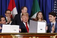 Την Τετάρτη πέφτουν οι υπογραφές για την εμπορική συμφωνία ΗΠΑ - Μεξικού - Καναδά