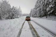 Σε πολύ χαμηλά επίπεδα η χιονοκάλυψη τον Ιανουάριο