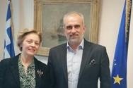 Πάτρα: Η Ολυμπία Λόη πραγματοποίησε συνάντηση με τον Παναγιώτη Τσώνη