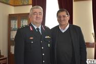 Πάτρα: Ο Δήμαρχος δέχθηκε σε επίσκεψη τον Γενικό Περιφερειακό Αστυνομικό Διευθυντή