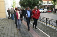 Στο Δικαστικό Μέγαρο της Πάτρας ο Κώστας Πελετίδης (φωτο)