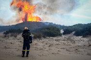 Αχαΐα: Φωτιά στην περιοχή της Στροφυλιάς