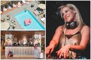Ένα ξέφρενο cocktail πάρτι για το ξεκίνημα του 3ημέρου - H Άννα Μαρία Χαροκόπου στο rooftop του MOXY