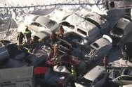 Καναδάς: Απίστευτη καραμπόλα στο Μόντρεαλ με σχεδόν 200 οχήματα (video)