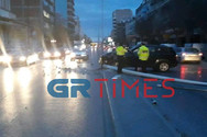 ΙΧ έπεσε σε κολόνα και την έριξε στη Θεσσαλονίκη (video)