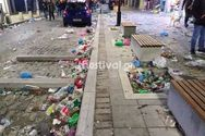 Πάνω από 300 τόνοι σκουπίδια στους δρόμους της Θεσσαλονίκης την Τσικνοπέμπτη