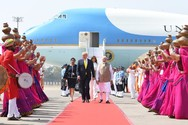 Παροξυσμός στην Ινδία για την πρώτη επίσκεψη του Ντόναλντ Τραμπ (φωτο)