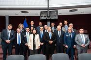 Στις Βρυξέλλες με την αντιπροσωπεία των Ελληνικών Περιφερειών, ο Φωκίων Ζαΐμης