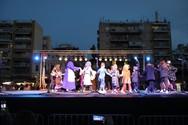 Πάτρα - Μια σκηνή με παντομίμες και χορευτικά δρώμενα στήθηκε στο κέντρο της πόλης