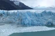 Η στιγμή που καταρρέει ένας παγετώνας (video)