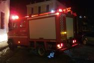 Πάτρα: Φωτιά σε σπίτι στα Μποζαΐτικα