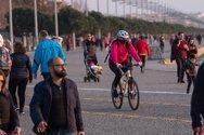 Θεσσαλονίκη: Κλειστή για 14 ημέρες η Νέα Παραλία μετά τις βόλτες με καφέ