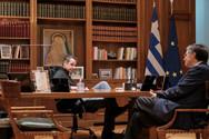 Συνάντηση Μητσοτάκη - Τσιόδρα για τα επόμενα βήματα στην μάχη του κορωνοϊού