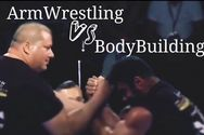 Armwrestling vs bodybuilding - Ο Αχαιός Γιώργος Χαραλαμπόπουλος σε ένα διαφορετικό αγώνα (video)